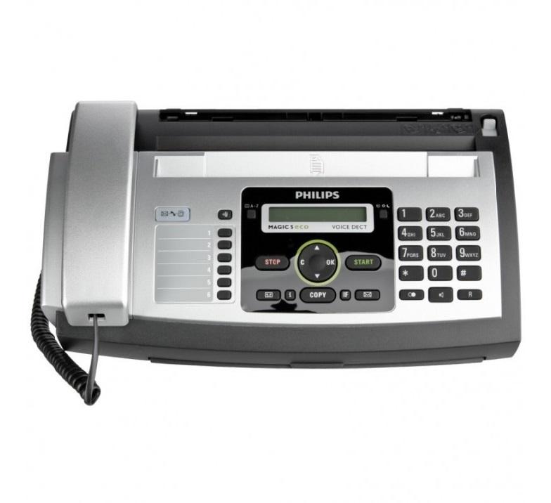FAX PHILIPS PPF 685E WITH CORDLESS PHONE ,Stand Alone FAX