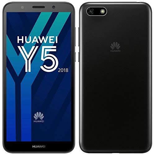 MOBILE PHONE HUAWEI 5.45 Quad-core 1.5 GHz 1GB 16GB CAMERA 8/5 MP DUAL SIM + SD HUAWEI Y5 LITE BLACK ,Android Smartphone