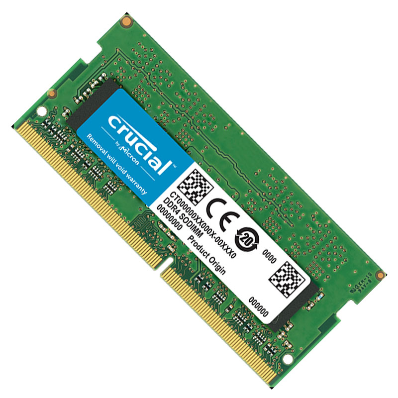 DDR4 8GB PC2666 CRUCIAL FOR NOTEBOOK BOX ,Laptop RAM