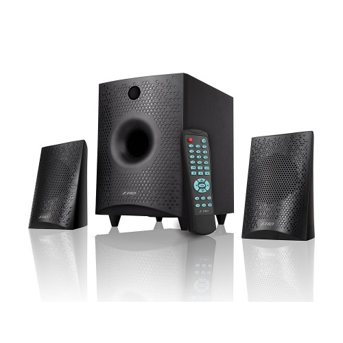 SUBWOOFER 2.1 F&D F210X USB+FM+BLUTOOTH + REMOTE +LED DISPLAY FINDA ,Home Theater & Subwoofer