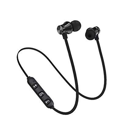 EARPHONE BLUETOOTH SMART SPORT STEREO + MIC + VOLUME CONTROL ,Smartphones & Tab Headsets