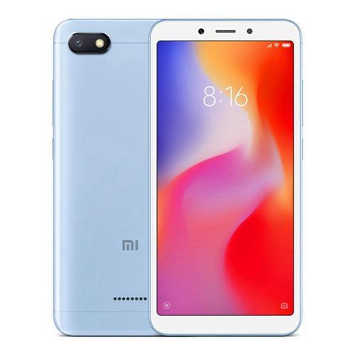 MOBILE PHONE XIAOMI 5.45 QUAD CORE 2.0GHZ 2GB 16GB DUAL SIM REDMI 6A - BLACK - كفالة ذهبية ,Android Smartphone