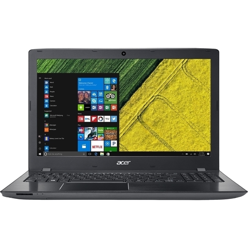 NOTEBOOK ACER ASPIRE E5-576G 58ZE 7200U 2.5GHZ UP TO 3.1GHZ 3M 4G DDR4 1T VGA NVIDIA 130MX 2G DDR3 15.6 BLACK ,Laptop Pc