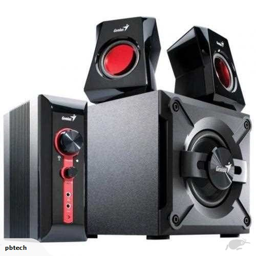 SUBWOOFER GENIUS SW-G2.1 1250 38W ,Home Theater & Subwoofer