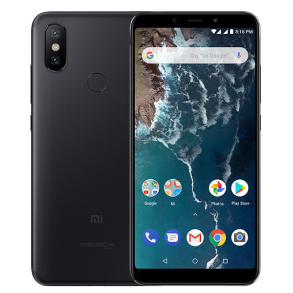 MOBILE PHONE XIAOMI 5.99 OCTA CORE 2.2GHZ 4GB 64GB DUAL SIM MI A2 - BLUE كفالة ذهبية ,Android Smartphone