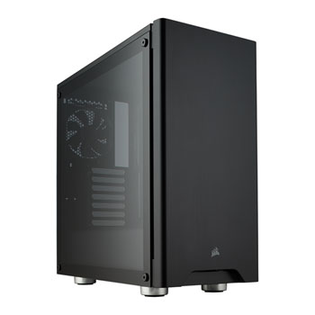 CASE CORSAIR GAMING P4 MIDDLE TOWER CARBIDE 275R SERIES EDGE TO EDGE CASE WINDOWED ACRYLIC BLACK CC-9011130-WW ,Case & Power Supply