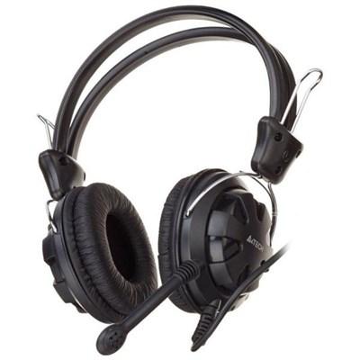 HEADSET GAMING A4TECH HS-28i+VOLUM CONTROL+2MIC FOR PC ,Headphones & Mics