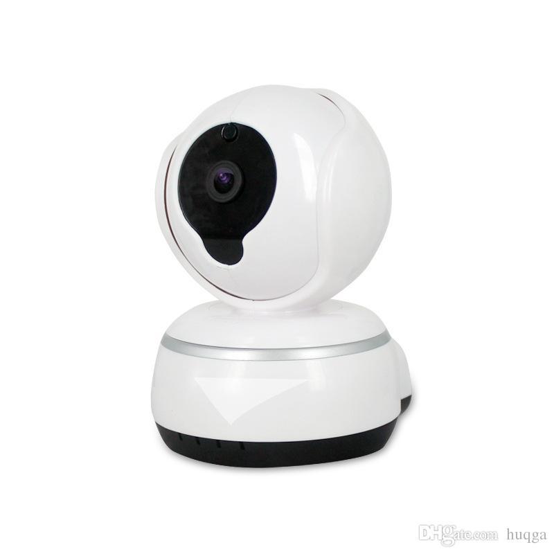 WIRELESS SMART IP CAMERA  H.265 / HD CAM HDQ3-V380   ANDROID+IOS UP TO 64M STORAGE  مع مدخل كبل شبكة   لاقط مزدوج ,Security Cameras