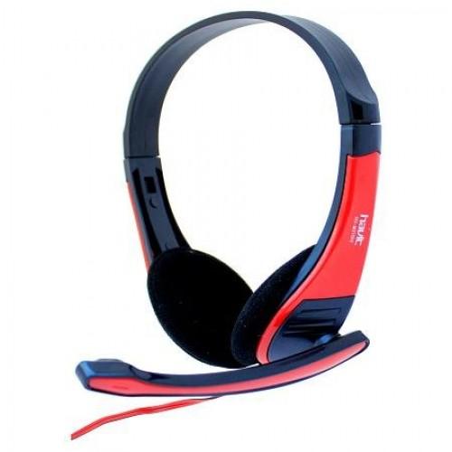 HEADPHONE HAVIT HV-H2105D STEREO 2X3.5MM PLUG ,Headphones & Mics