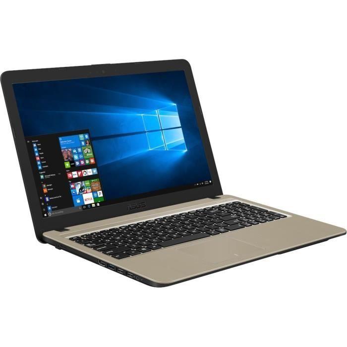 NOTEBOOK ASUS R540YA-XO257D AMD D-C E1-7010 1.5GHz 1M 4G 500 VGA AMD RADEON 15.6 BLACK ,Laptop Pc