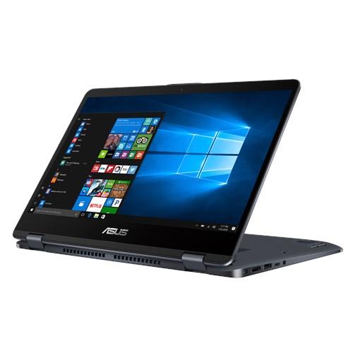 NOTEBOOK ASUS VIVOBOOK TP410UA I3 8130U 2.20GHz 4M 4G 1T-128SSD VGA INTEL HD 14.0 X360 TOUCH GRAY ,Laptop Pc