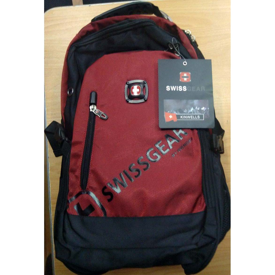 NOTEBOOK BAG SWISSCEAR BACK COLOR 15.6 صوت+USB ظهر+تطويلة ,Laptop Bag