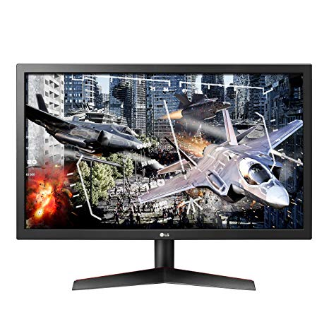MONITOR LED 24 LG FULL HD ULTRAGEAR GAMING MONITOR 24GL600F-B 144Hz 1Ms RESPONSE TIME PANEL TYPE:TN ,LED