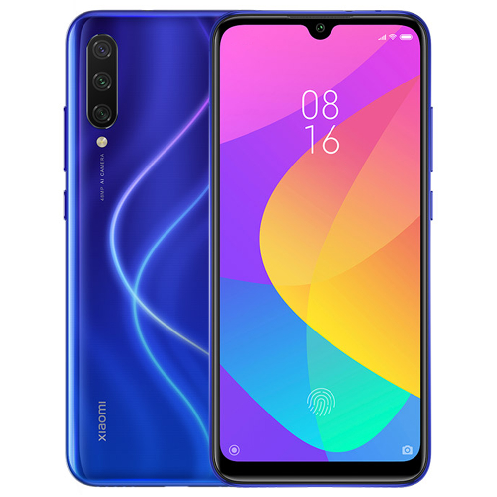 MOBILE PHONE XIAOMI 6.01 OCTA CORE 1.8GHZ 4GB 64GB DUAL SIM REDMI MI A3 - BLUEكفالة ذهبية ,Android Smartphone