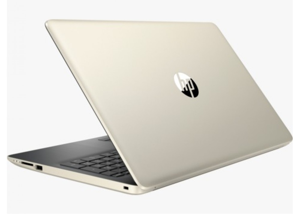 NOTEBOOK HP 15-DA0116NIA I7 8550U 1.8GHZ UP-TO 4GHZ 8M 8G DDR4 1T VGA NVIDIA 130MX 4G DDR3 15.6 GOLD