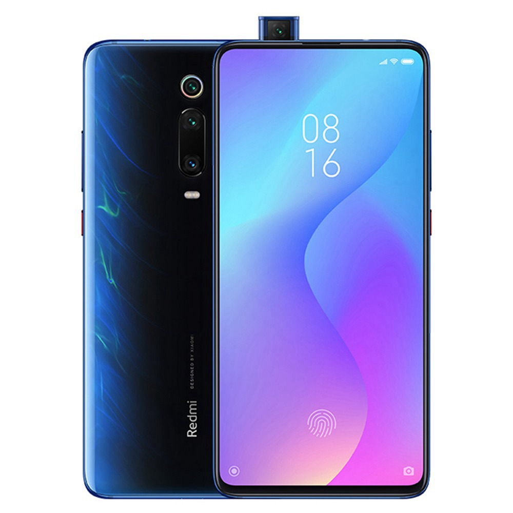 MOBILE PHONE XIAOMI 6.39 OCTA CORE 1.8GHZ 6GB 64GB DUAL SIM REDMI K20 PRO BLUE كفالة ذهبية ,Android Smartphone