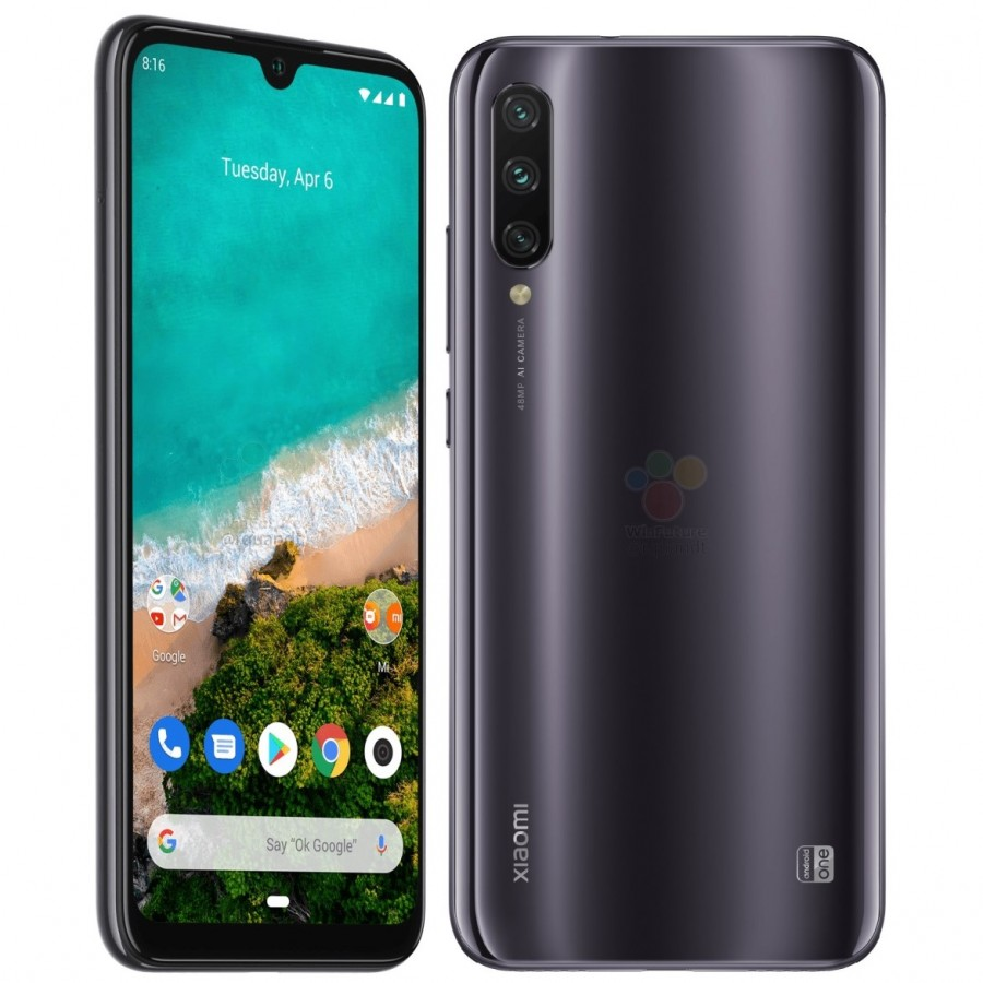 MOBILE PHONE XIAOMI 6.01 OCTA CORE 1.8GHZ 4GB 128GB DUAL SIM REDMI MI A3 GRAY كفالة ذهبية ,Android Smartphone