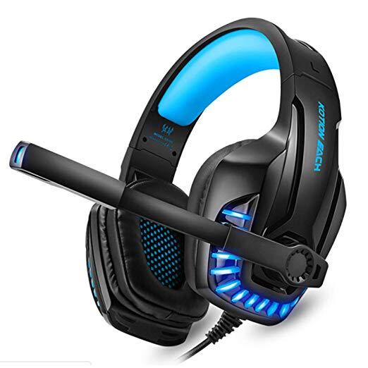 HEADSET GAMING KOTION EACH G9100 PRO BASS HD ,Headphones & Mics