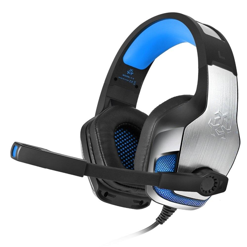 HEADSET GAMING HUNTER SPIDER  V4 PRO BASS ,Headphones & Mics