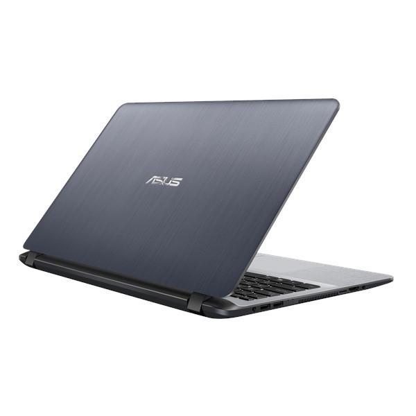 NOTEBOOK ASUS X507-BR444 I3 7020U 2.30GHz 3M  4G HD1T+128 SSD VGA INTEL 15.6 DARK BLACK ,Laptop Pc