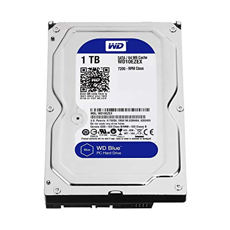 HD 1 TERRA WD WD10EZEX SATA3 64M BLUE PULLED OUT ,Desktop HDD
