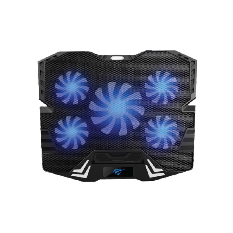 NOTEBOOK COOLING PAD HAVIT HV-F2082 5FAN GAMING ,Laptop Accessories