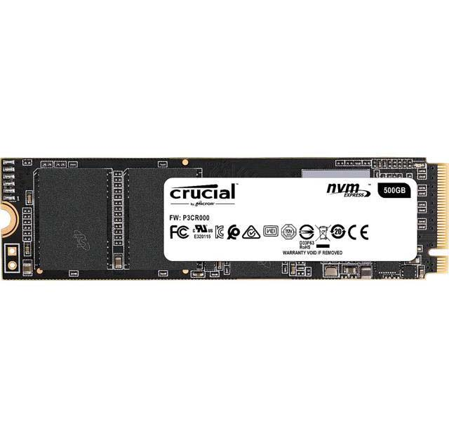 HDD SSD CRUCIAL P1 500G M.2 NVMe PCIe INTERNAL ,SSD HDD