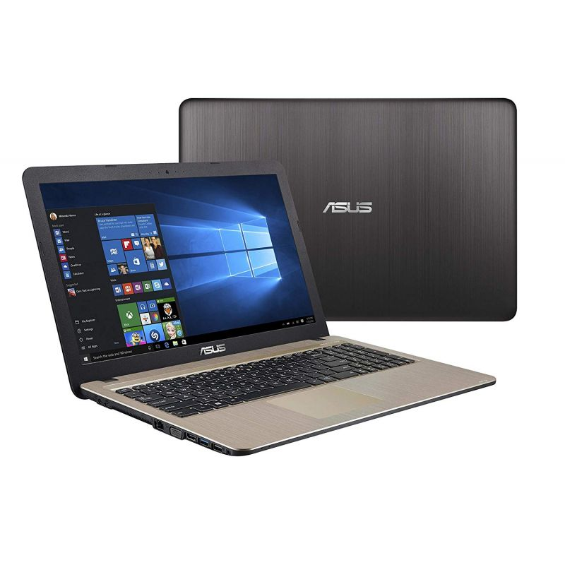 NOTEBOOK ASUS F540NA-GQ114 C-D N3350 2.4GHz 2M 4G 1T VGA INTEL HD 15.6 BLACK ,Laptop Pc