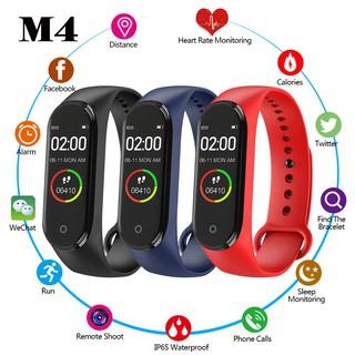 SMART WATCH WATERPROOF BLUETOOTH M4 SPORT FOR ANDROID AND IOSشاشة ملونة - وقت والتاريخ - المسافة المقطوعة - دقات القلب - عدد الخطوات - تنبيه مكالمة ,Other Smartphone Acc