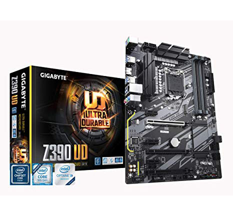 MB GIGABYTE Z390 UD SOK1151 9th/8th GEN DDR4 MAX 128GB DUAL M.2 USB 3.1 ,Desktop Mainboard