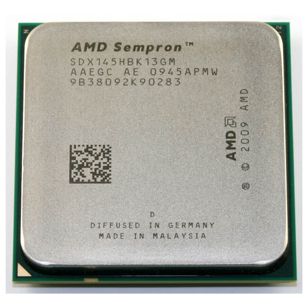 CPU AMD SEMPRON LE-145 2.8GHz 1MB CACHE AM3 + FAN  مستعمل ,Other Used Items