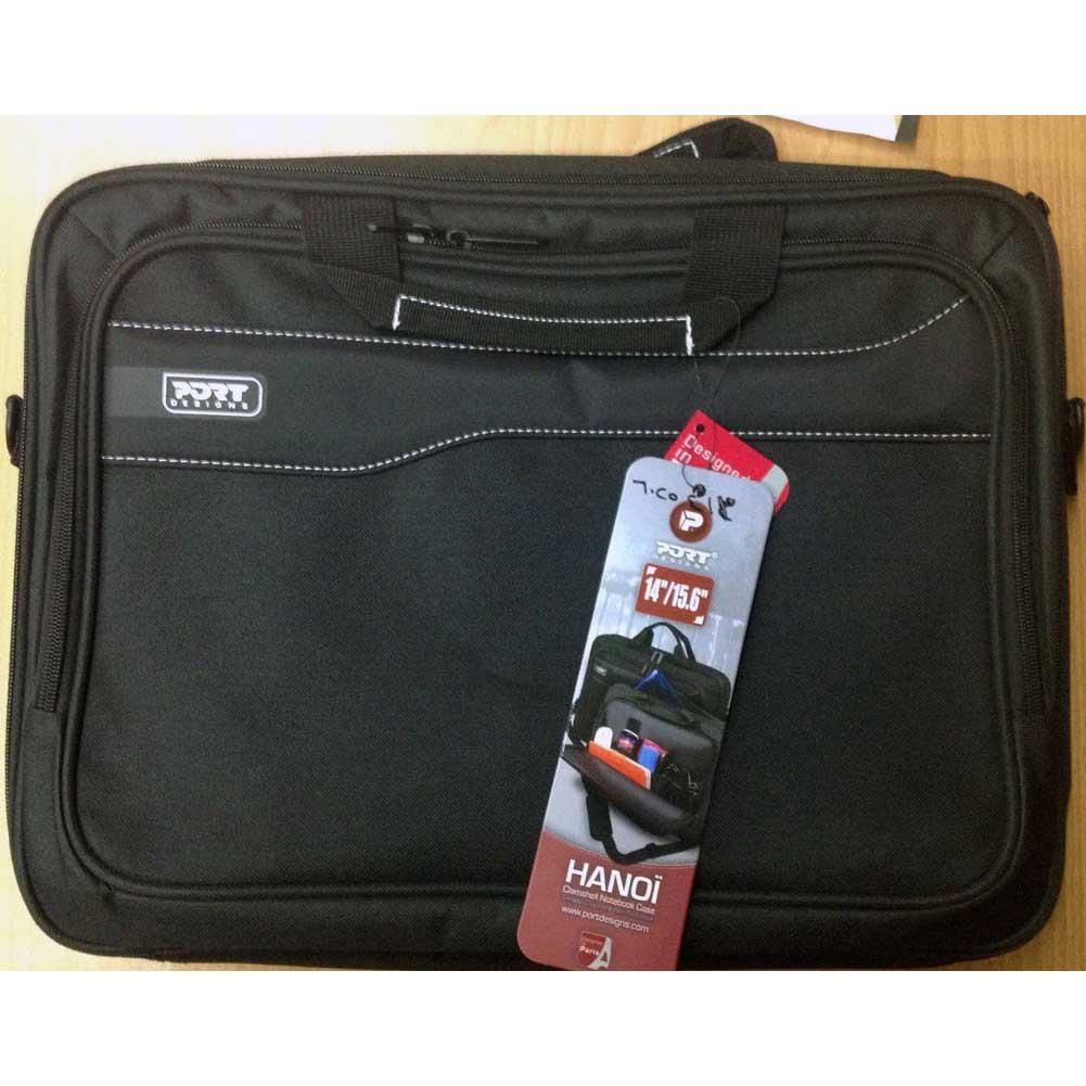 NOTEBOOK BAG PORT HANOI BLACK 15.6, Laptop Bag