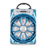 SPEAKER BLUETOOTH MS-283/4/5/6/8 BT DUAL-FLAT FOR MP3 & MOBILE & FM & SD CARD USB BIG COLOR ,Speakers