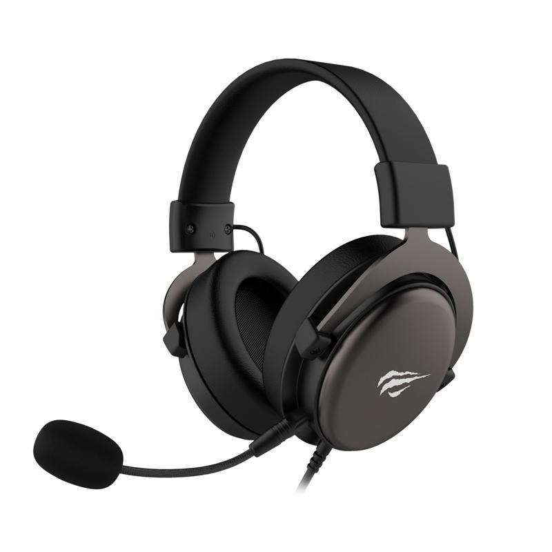 HEADSET GAMING HAVIT GAMENOTE H2015D 2JACK 3.5MM ,Headphones & Mics