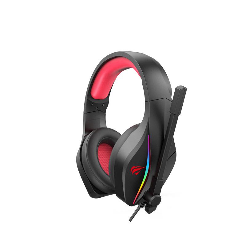 HEADSET GAMING HAVIT GAMENOTE H2025D RGB+2JACK 3.5MM ,Headphones & Mics