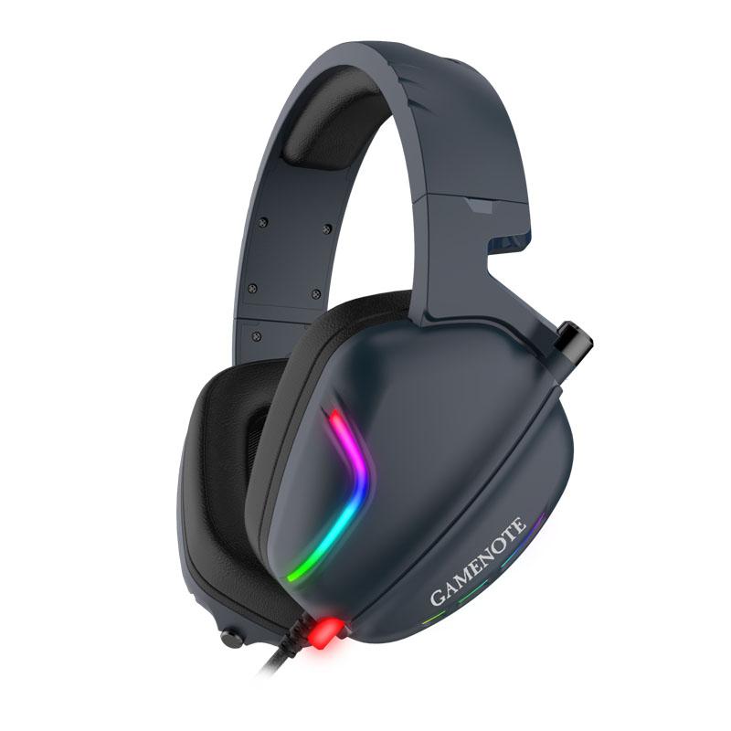 HEADSET GAMING HAVIT GAMENOTE H2019U RGB+7.1 CHANNEL USB INTERFACE ,Headphones & Mics