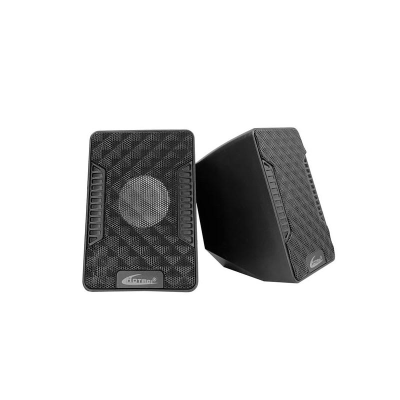 SPEAKER MULTIMEDIA HOTMAI A16 3.55 MM 3W X 2 USB BOWER ,Speakers