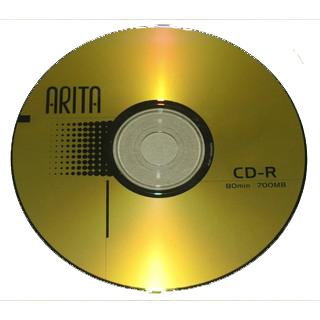 CD BLANK ARITA 700MB 52X بدون علبة ,Blank CD & DVD