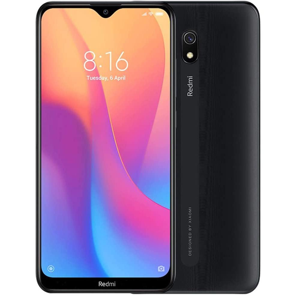 MOBILE PHONE XIAOMI 6.2 OCTA CORE 1.4GHZ 3GB 32GB DUAL SIM REDMI 8A BLACK ,Android Smartphone