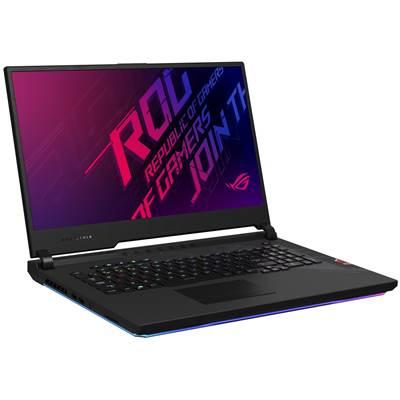 NOTEBOOK ASUS G731GU-EV218 I7 9750H 2.6 UP TO 4.5 12M 16G DDR4 512TSSD VGA NVIDIA 6G GTX 1660TI GDDR6 17.3  BLACK ,Laptop Pc