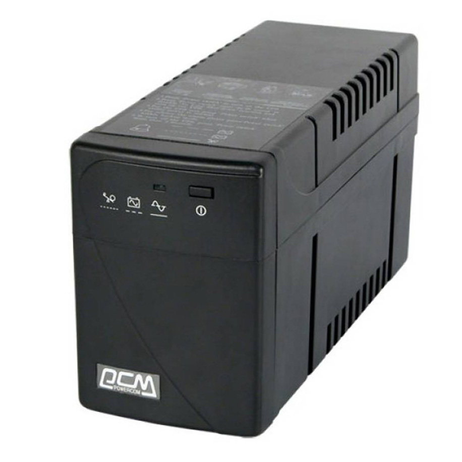 UPS 1000 VA /600W  POWERCOM LED BLACK KNIGHT PRO بدون بطاريه ,UPS