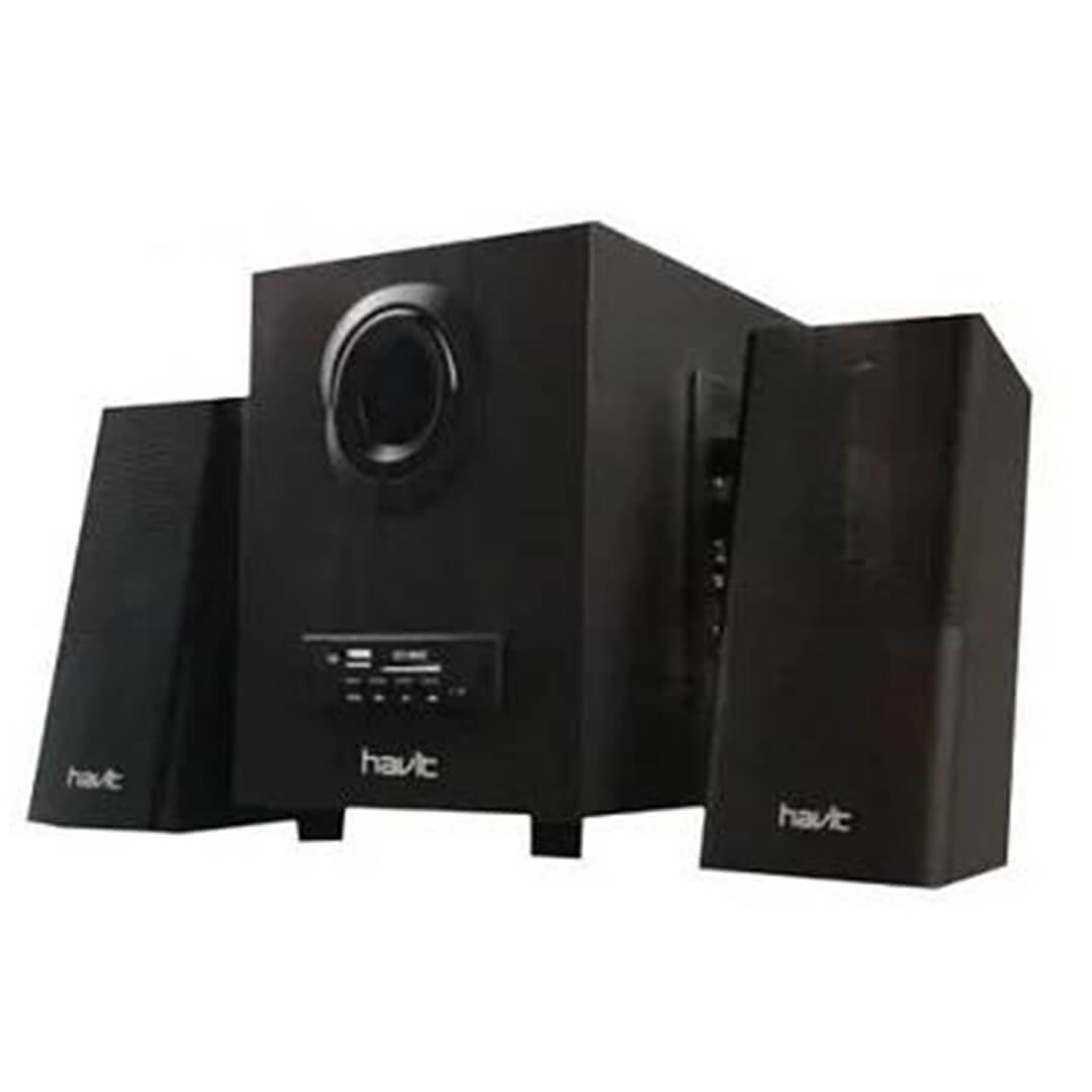 SUBWOOFER 2.1 HAVIT SK590BT USB+BLUTOOTH + REMOTE +SD MMS ,Home Theater & Subwoofer