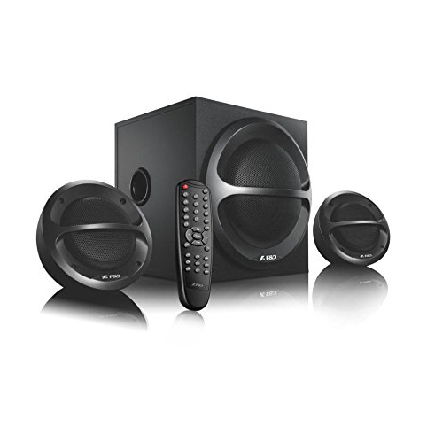 SUBWOOFER 2.1 F&D A111X USB+FM+BLUTOOTH + REMOTE  FINDA ,Home Theater & Subwoofer