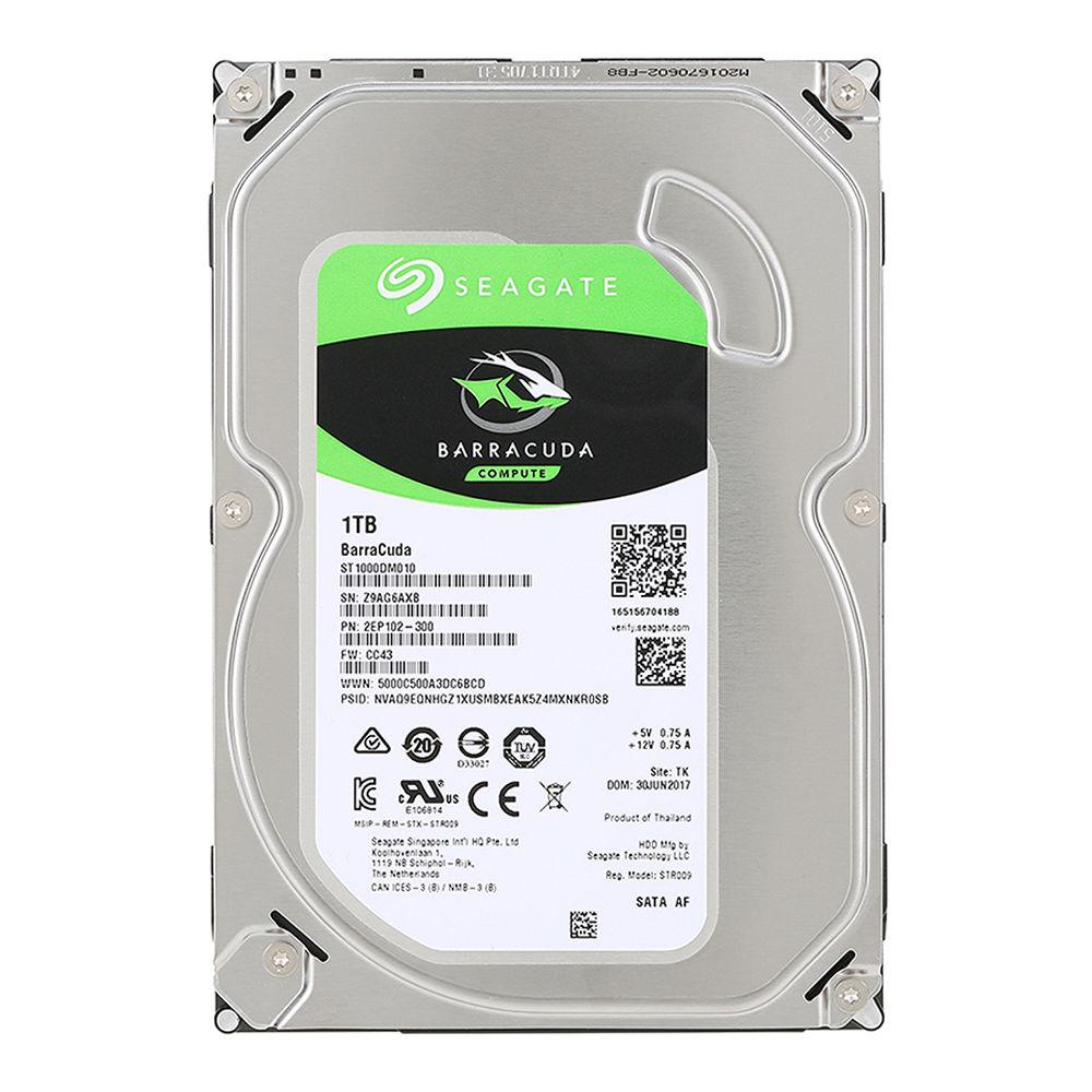 HD 1 TERRA BYTE SEAGATE BARRACUDA 64M 7200 SATA3 ST1000DM010 PULLED OUT ,Desktop HDD