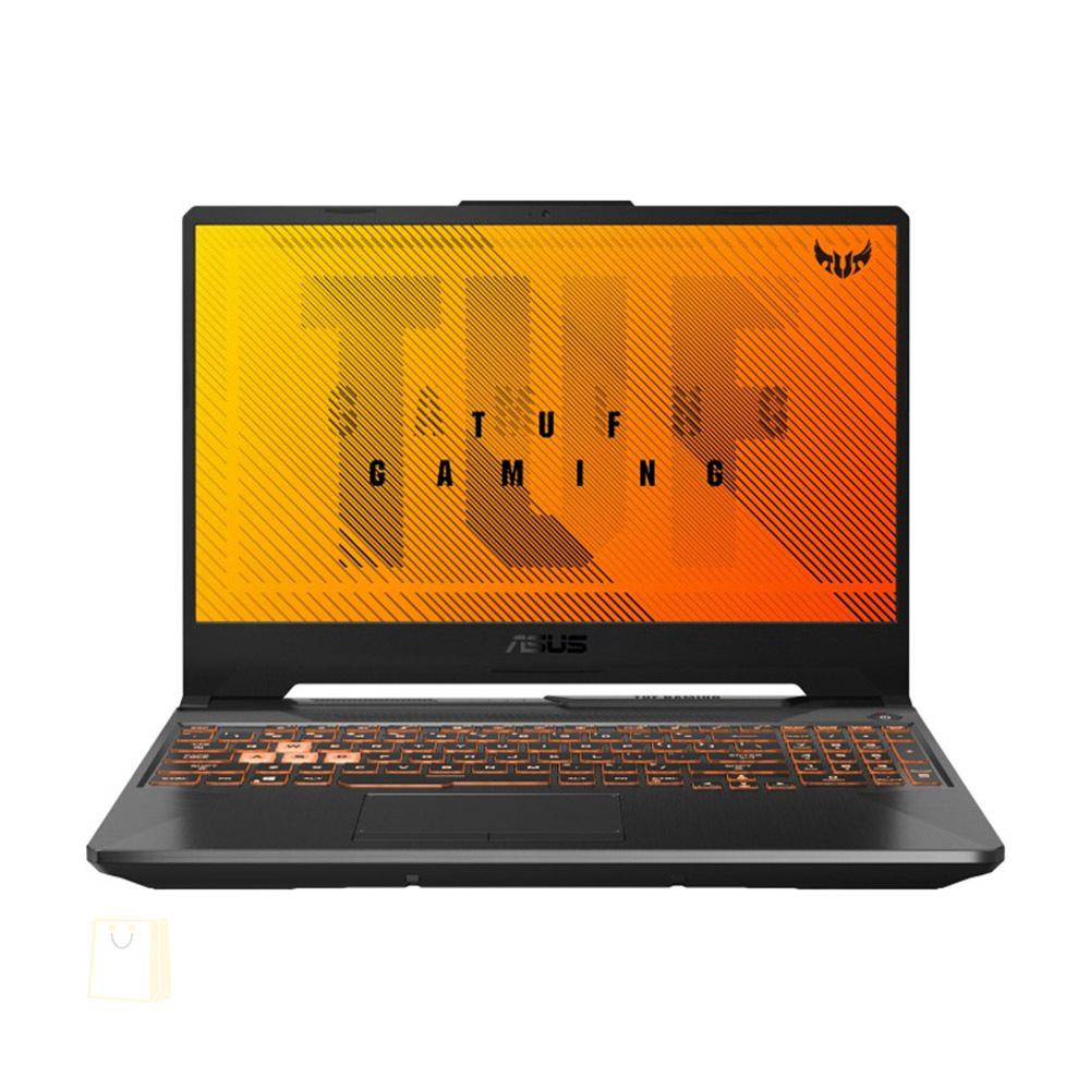 NOTEBOOK ASUS GAMING FA506II-BQ226 AMD RYZEN R5-4600H 3.0GHz UP TO 4GHz 11M 16G 512SSD VGA NVIDIA 4G GTX1650TI DDR6 15.6 BLACK ,Laptop Pc