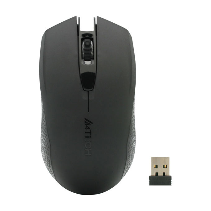 MOUSE A4TECH RECHARGEABLE WIRELESS V-TRACK G11-760N 1000DPI 2.4GHZ ,Mouse