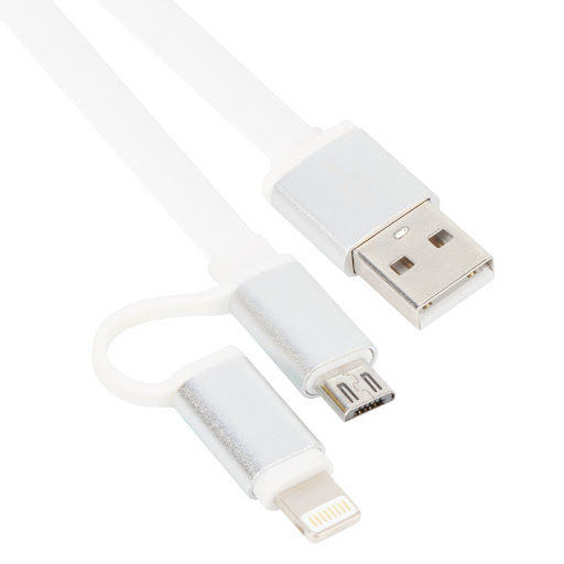 CABLE VCOM LIGHTNING+MICRO DATA & CHARGE FOR SMARTPHONE 1M ,Cable