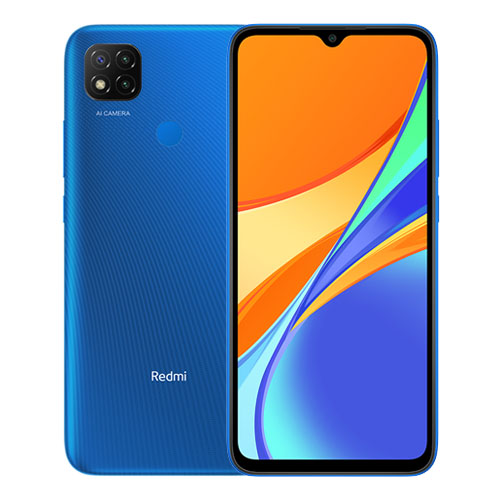 MOBILE PHONE XIAOMI 6.53 OCTA CORE 1.8GHZ 2GB 32GB DUAL SIM REDMI 9C BLUE ,Android Smartphone