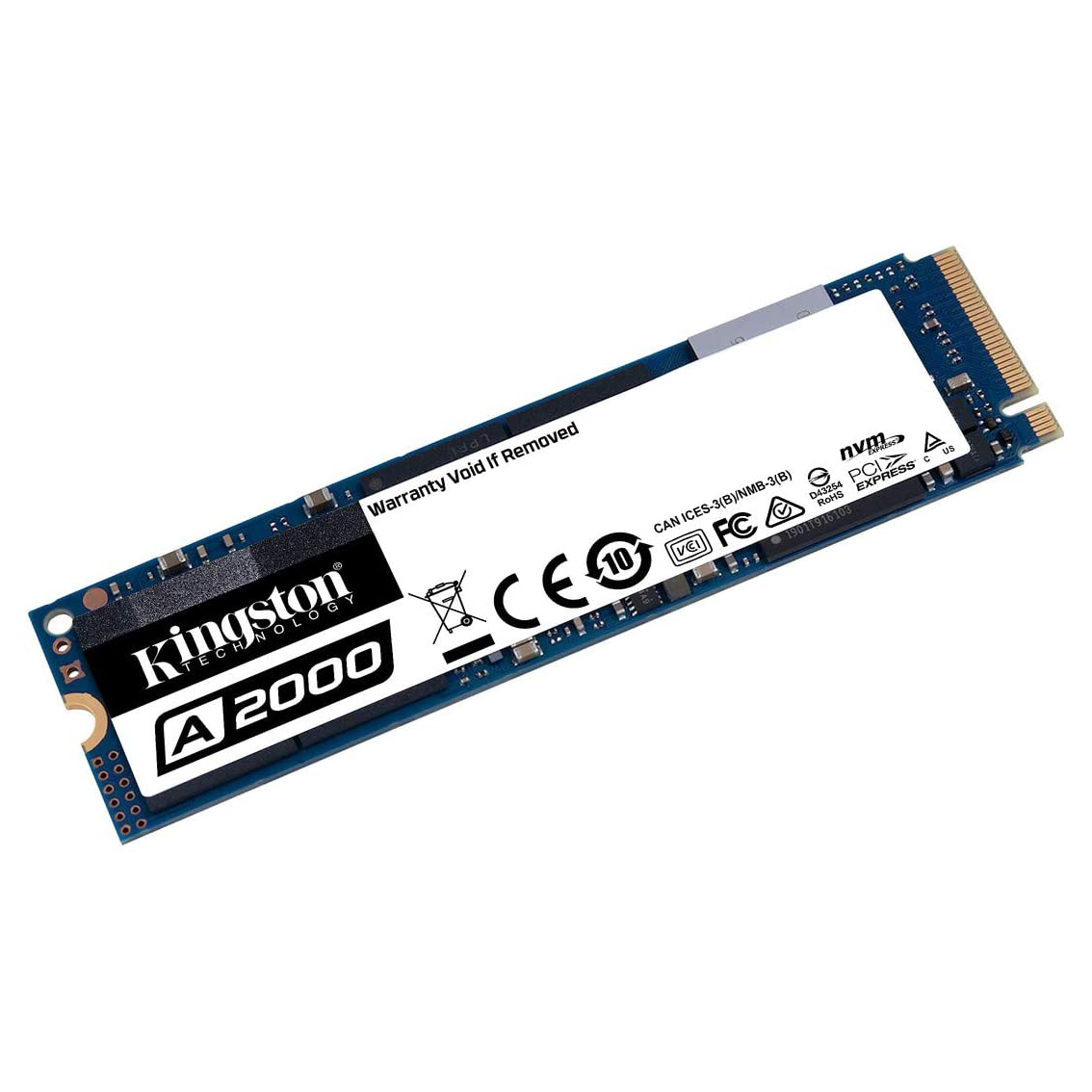 HDD SSD 250GB  KINGSTON A2000 NVMe 35X FASTER ,SSD HDD