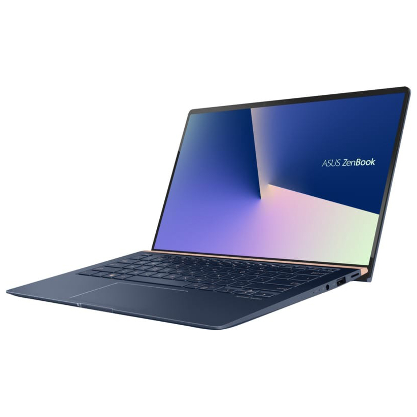 NOTEBOOK ASUS ZENBOOK UX431FL-AN057T I5 10210U 1.6GHZ 4.2GHZ 6M 8G DDR4 512SSD VGA NVIDIA 250MX 2G DDR5 14.0 WIN10 SILEVR BLUE ,Laptop Pc